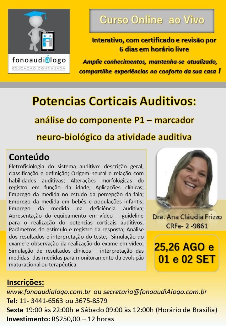 Potenciais Corticais Auditivos