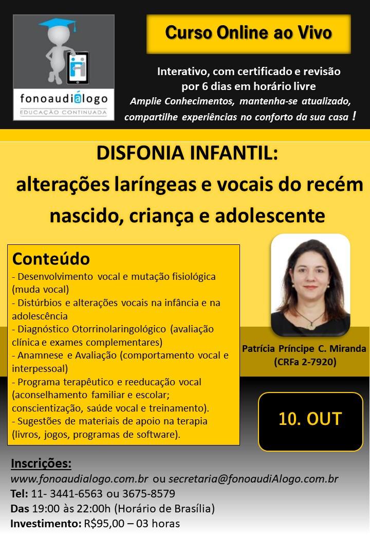 Disfonia Infantil