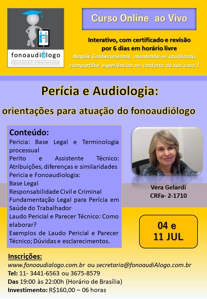Pericia e Audiologia