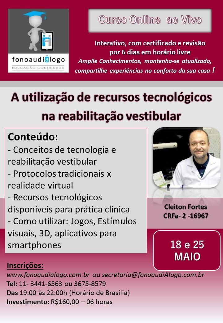 Tecnologias na Reabilitação Vestibular