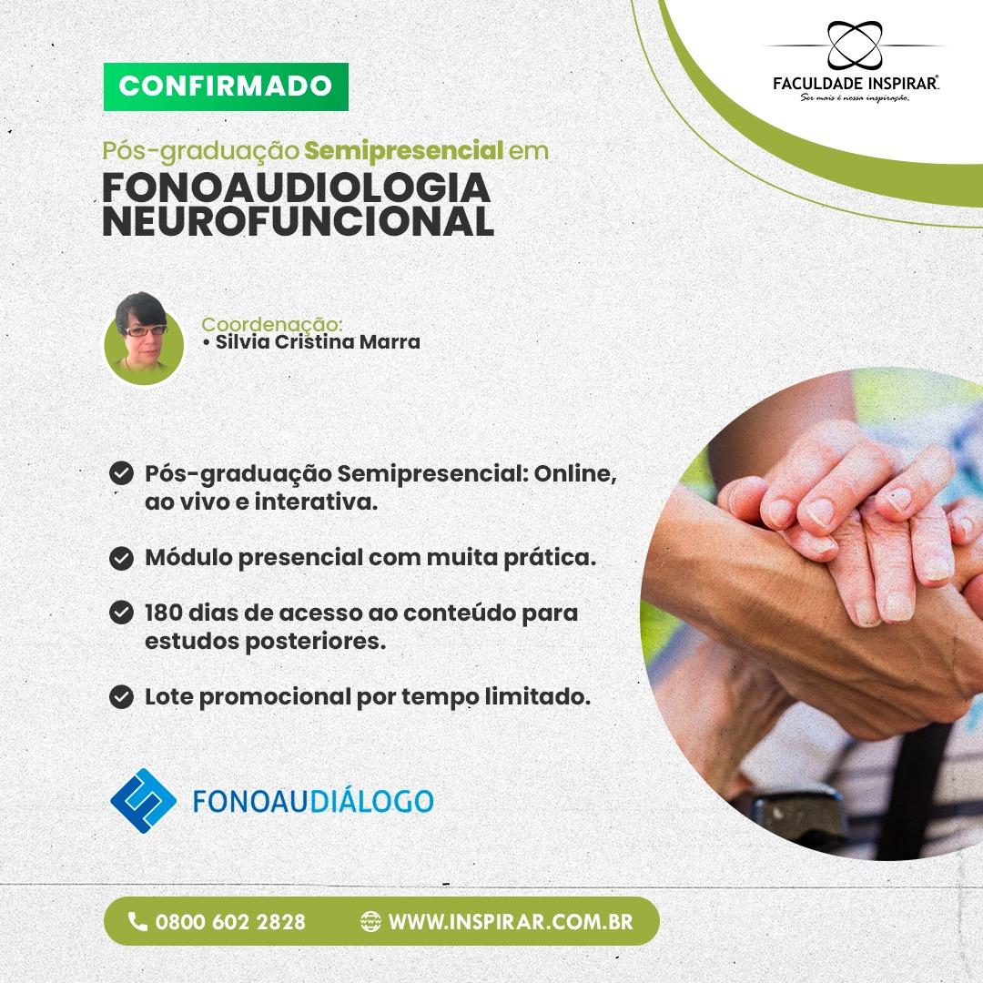 ESPECIALIZAÇÃO EM FONO NEUROFUNCIONAL