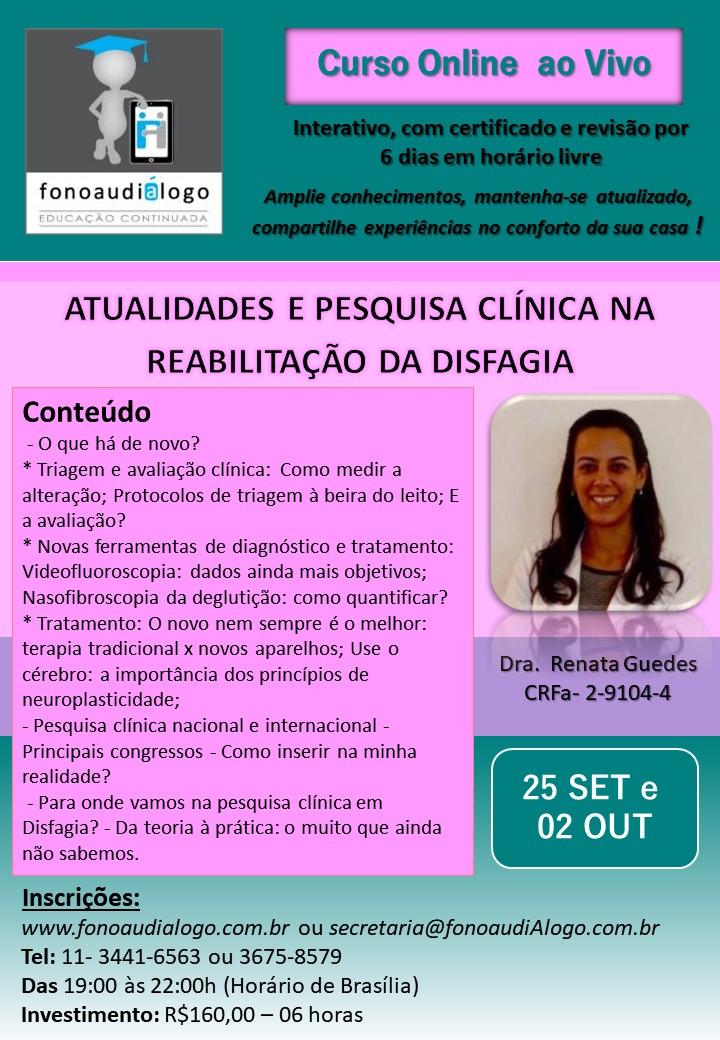 Atualização com a Dra. Renata Guedes