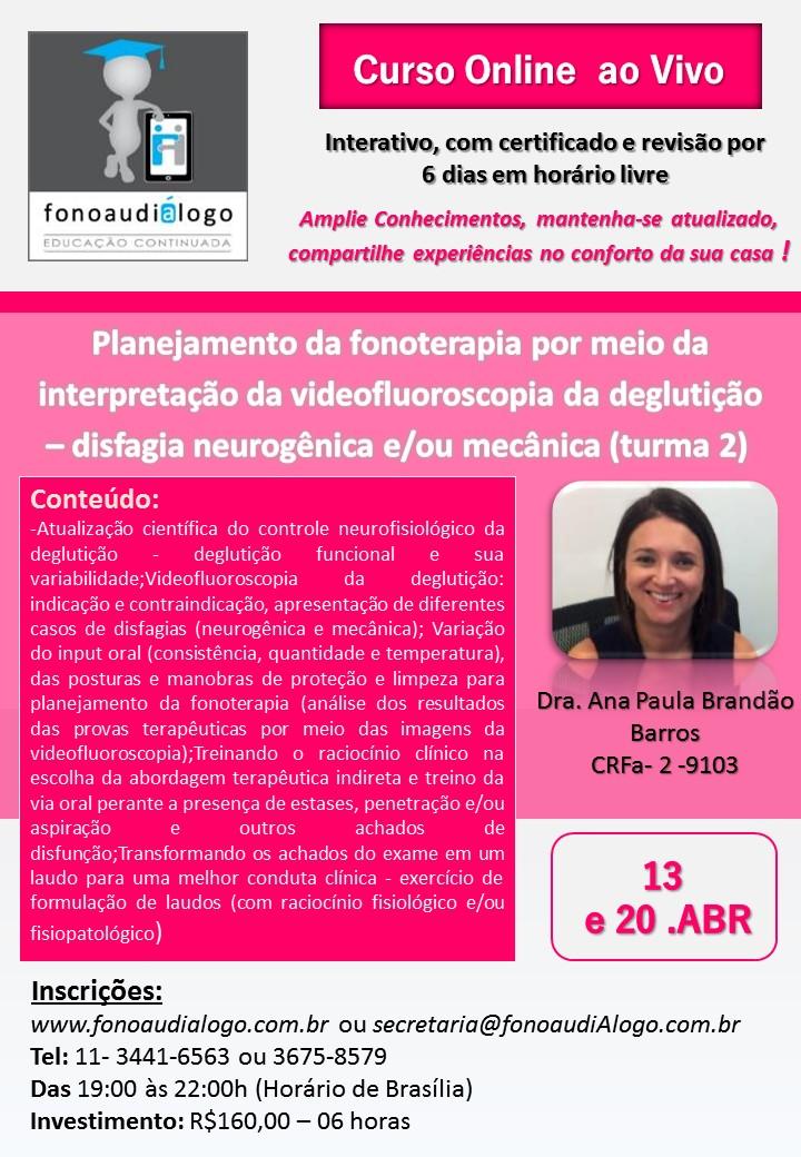 Curso sobre Videofluoroscopia