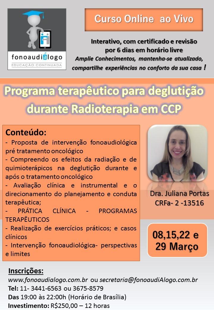 Curso online com a Dra. Juliana Portas!