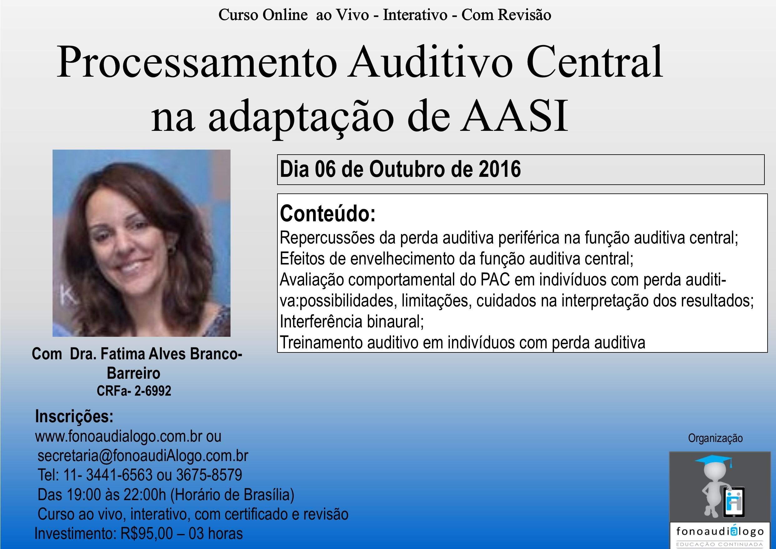 PAC na adapta��o de AASI