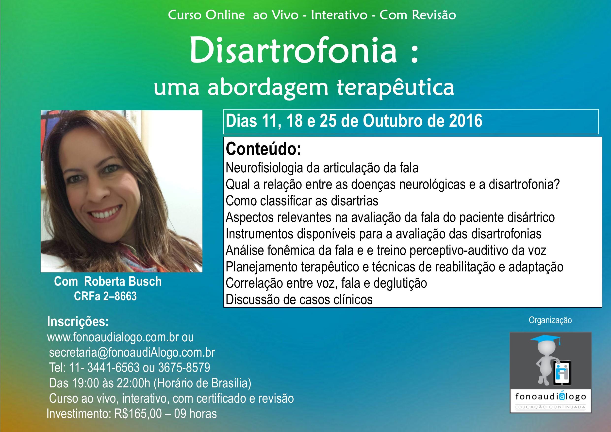 Disartrofonia