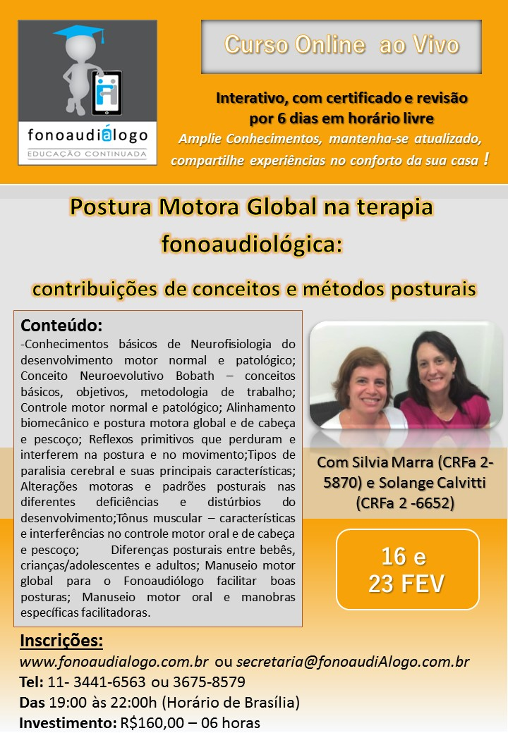Postura Motor Global e a Clinica Fonoaudiológica