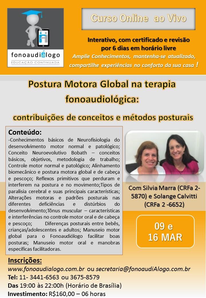 Postura Motora Global e fonoaudiologia